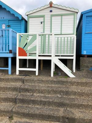 photo 3 of Beach hut 707 for hire Frinton-on-Sea