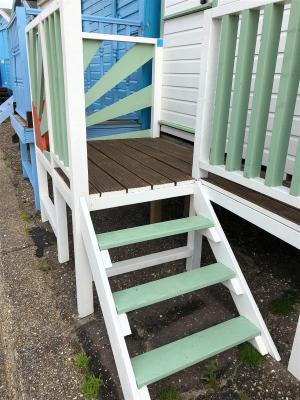 photo 4 of Beach hut 707 for hire Frinton-on-Sea
